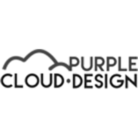 PURPLE CLOUD DESIGN Logo